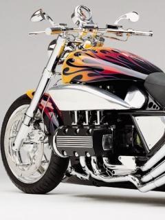 Nice Shining Bike Mobile Wallpaper