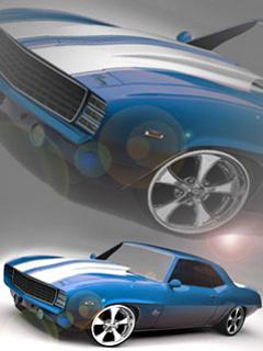 Camaro Musc Mobile Wallpaper