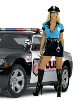 Police Woman Mobile Wallpaper