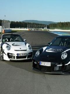 Cars On Road  Mobile Wallpaper