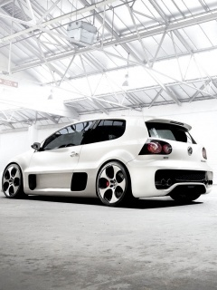 Vw Golf Gti W12 Mobile Wallpaper