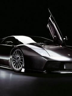 Black Luxur Car Mobile Wallpaper