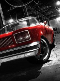 Red Car  Mobile Wallpaper