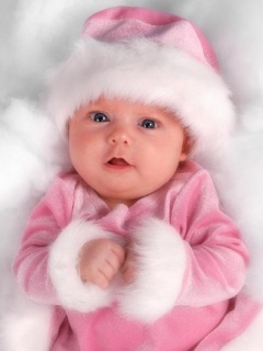Cute Baby Mobile Wallpaper