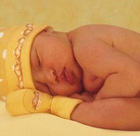 Innocent Baby Sleeping Mobile Wallpaper