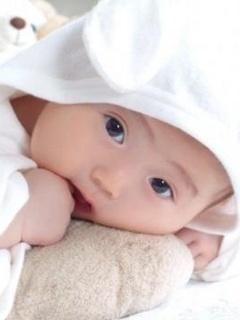 Cute Baby Mobile Wallpaper
