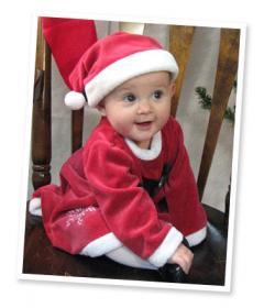 Christmas Baby Mobile Wallpaper