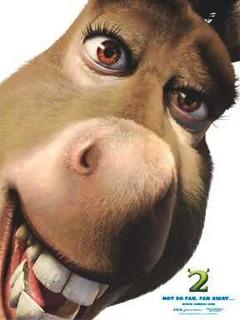 Donkey Shrek Mobile Wallpaper