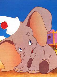 Little Elephant Mobile Wallpaper