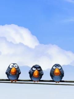 Birds-3 Mobile Wallpaper