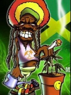Download Bob Marley Cartoon Mobile Wallpaper Mobile Toones