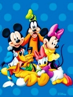 Disney Gang Mobile Wallpaper