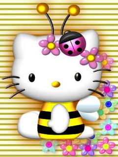 Kitty3 Mobile Wallpaper