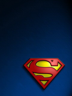 Super Man LOGO  Mobile Wallpaper