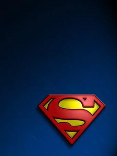 Super Man LOGO Mobile Wallpaper