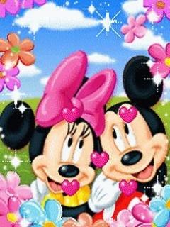 Micky In Love  Mobile Wallpaper