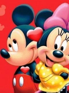 Micky Love Mobile Wallpaper