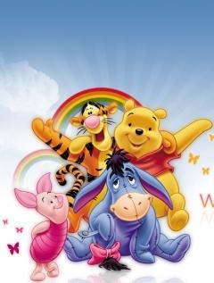 Pooh-d Mobile Wallpaper