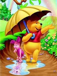 Pooh Amppig Mobile Wallpaper