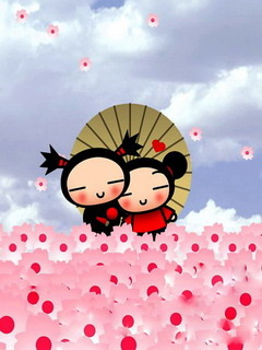 Pucca  Mobile Wallpaper