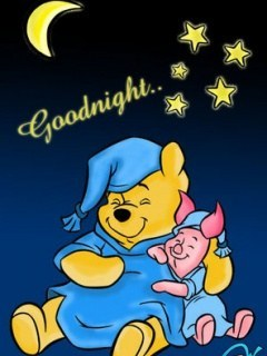 Sleep Pooh Mobile Wallpaper