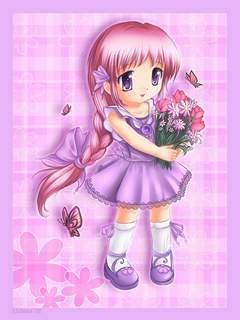 Anime Girl Sens4vin Mobile Wallpaper