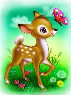 Bambi Mobile Wallpaper