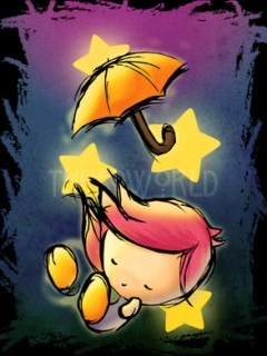 Sleep Star Mobile Wallpaper