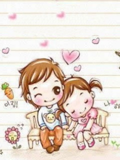 cute cartoon love wallpapers for mobile