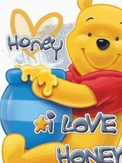 I Love Honey  Mobile Wallpaper