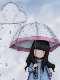 Its Raining Mobile Wallpaper