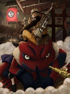 Narutogama Mobile Wallpaper