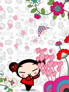 Pucca-3 Mobile Wallpaper