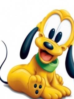 Puppy Pluto Mobile Wallpaper