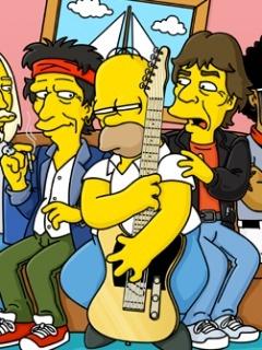 Homer Roll Mobile Wallpaper