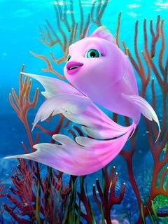 Little Fish  Mobile Wallpaper