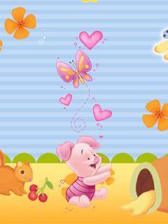 Piglets Mobile Wallpaper