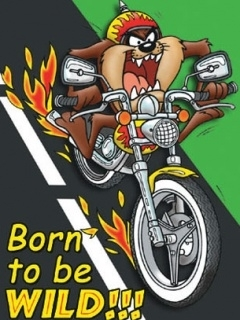 Born To Ride Mobile Wallpaper