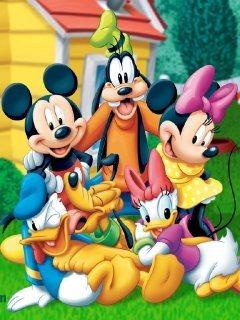 Groups Of Cartoon Mobile Wallpaper