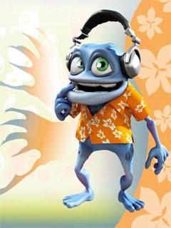 Download crazy frog mobile wallpaper mobile toones - Frog cartoon wallpaper ...