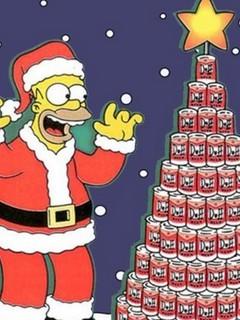 Homer Simps Mobile Wallpaper