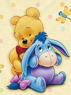 Baby Pooh Mobile Wallpaper