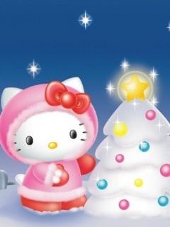 Sweet Christmas Mobile Wallpaper