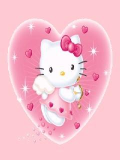 Kitty Mobile Wallpaper