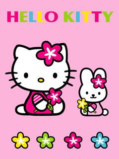 Kitty Rosa Mobile Wallpaper