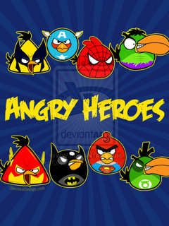Angry Birds Mobile Wallpaper