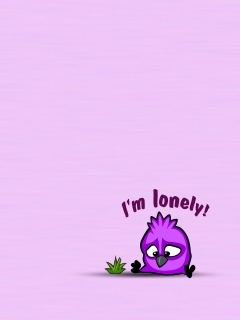 Im Lonely Mobile Wallpaper