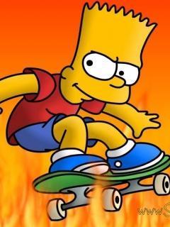 Bart Mobile Wallpaper