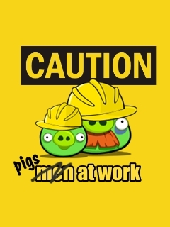 Caution Mobile Wallpaper