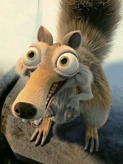 Scrat Mobile Wallpaper